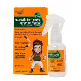 NEOSITRIN 1 SPRAY GEL LIQUIDO ANTIPIOJOS 60 ML