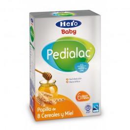 PEDIALAC PAPILLA 8 CEREALES Y MIEL HERO BABY 500