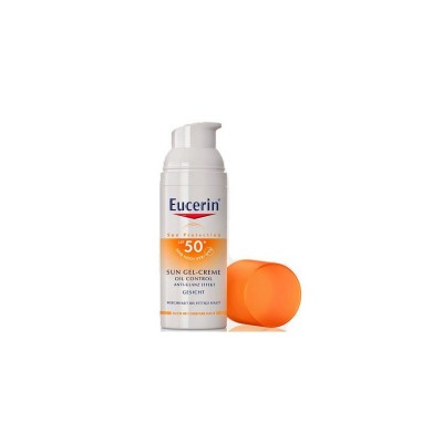EUCERIN SUN PROTECTION 50 GEL CREME ROSTRO OIL