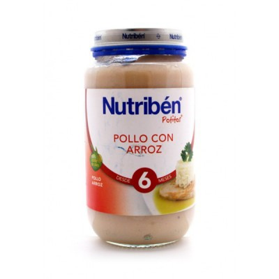 NUTRIBEN G POLLO ARROZ 250 G