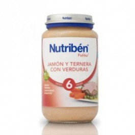 NUTRIBEN G JAMON TERN VERD 250 G