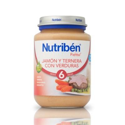 NUTRIBEN J JAMON TERNERA VERDURAS