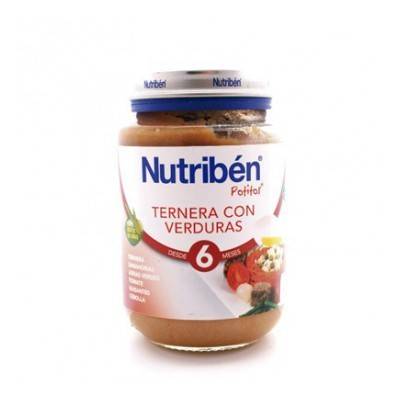 NUTRIBEN J POLLO TERNERA VERDURAS
