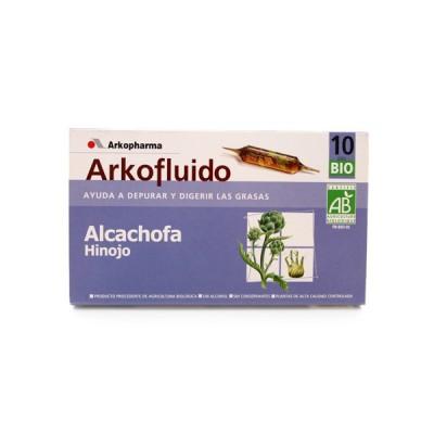 ALCACHOFA E HINOJO 10 AMPOLLAS