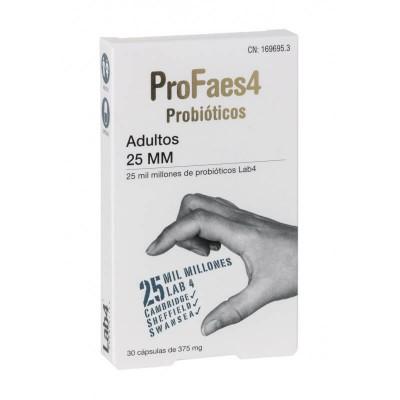 PROFAES4 PROBIOTICO ADULTOS  25 MM MILMILLONES