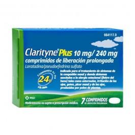 CLARITYNE PLUS 10240 MG 7 COMPRIMIDOS LIBERACIO