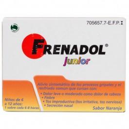 FRENADOL JUNIOR 10 SOBRES 6 AÑOS