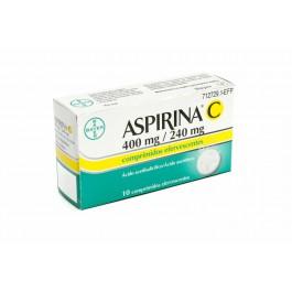 ASPIRINA C 400240 MG 10 COMPRIMIDOS EFERVESCENT