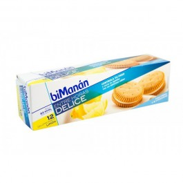 BIMANAN GALLETAS LIMON SNACK 12 U 1833 G 220 G