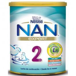 NAN 2 LECHE CONTINUACION 800GR NESTLE